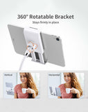 Rose Gold Flexible Head Phone Stand + Clixy Set