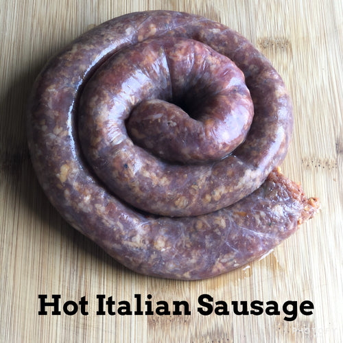 Hot Italian Sausage Sugar Free