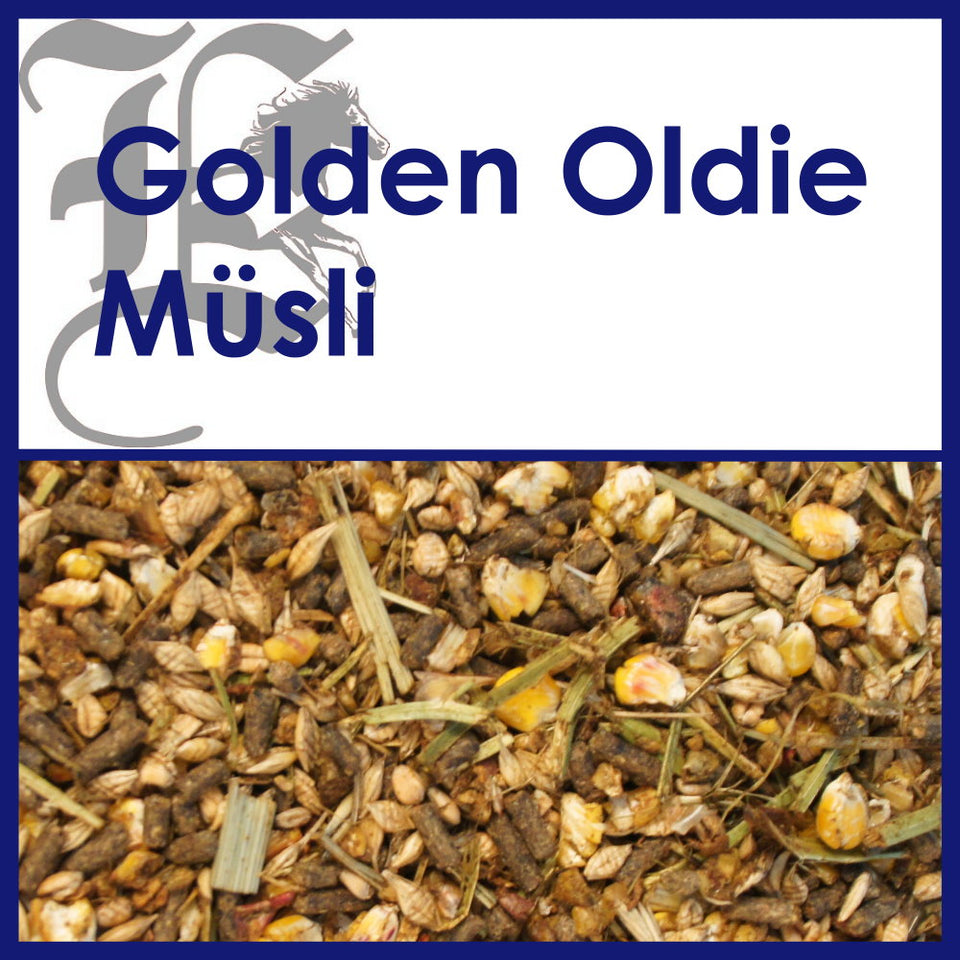 Golden Oldie Müsli: 20 kg Sack - Probe 1.5 kg