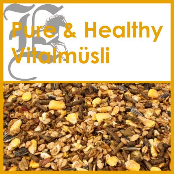 Pure & Healthy Vitalmüsli: 15 kg Sack - Probe 1.5 kg