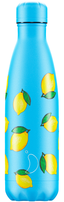 Botella termo CHILLY'S icons limones