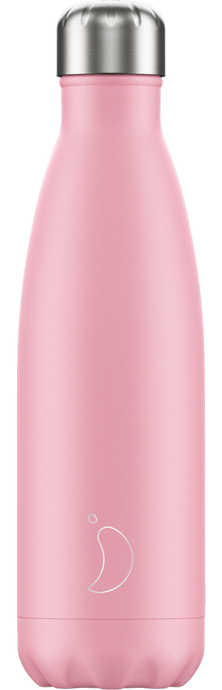 Botella termo Chilly Rosa Pastel