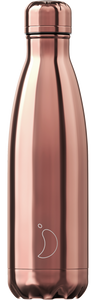 Botella termo Chilly Chrome Oro Rosa