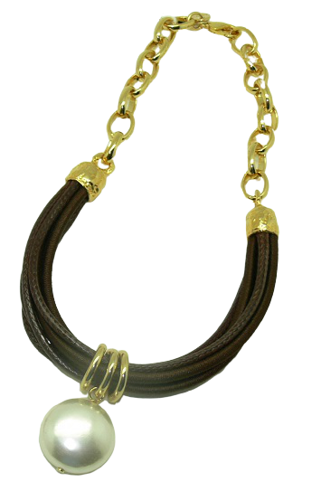 Collar GIANT con perla