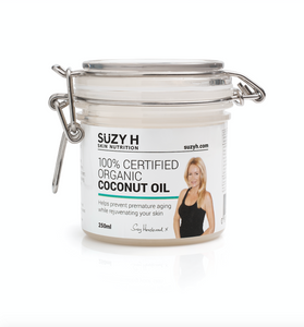 100% Certified Organic Coconut Oil - 250ml