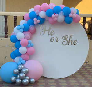 Gender Reveal Balloon Garland / Arch
