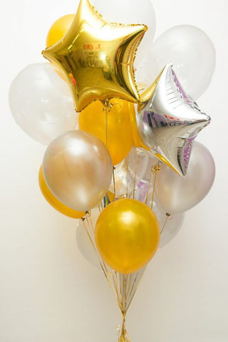 As Good as Gold Balloon Bouquet