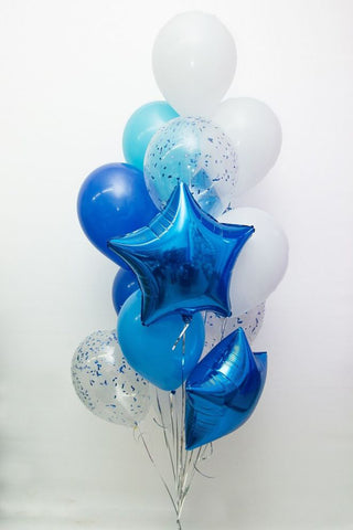 Persian Blue Balloon Bouquet