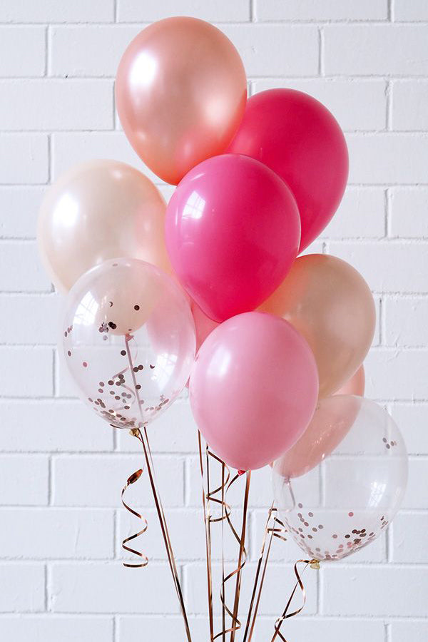 Pink Fusion Balloon Bouquet