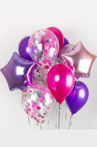 Purple Patch Balloon Bouquet