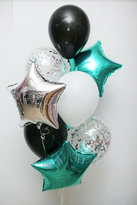 Aqua Green Balloon Bouquet