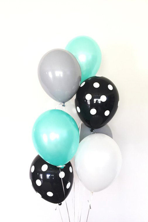 Polka Dots Balloon Bouquet