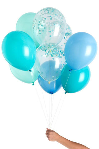 Out of blue Balloon Bouquet