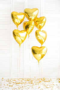 The Gold Rush Balloon Bouquet