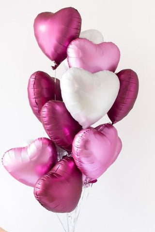 At First Blush Balloon Bouquet