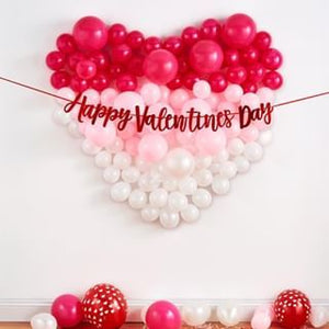 Stunning Heart Balloon Decor