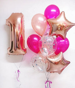 Perfect Pink Balloon Bouquet