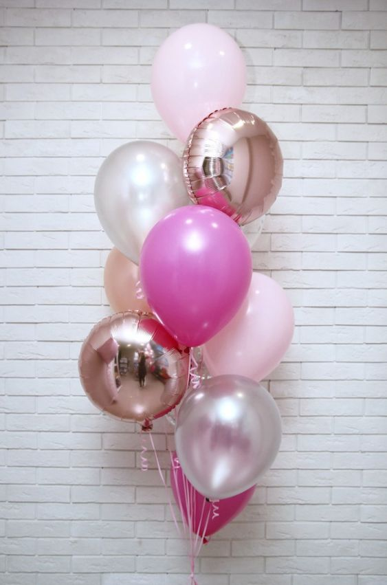 Pinkaholics Balloon Bouquet