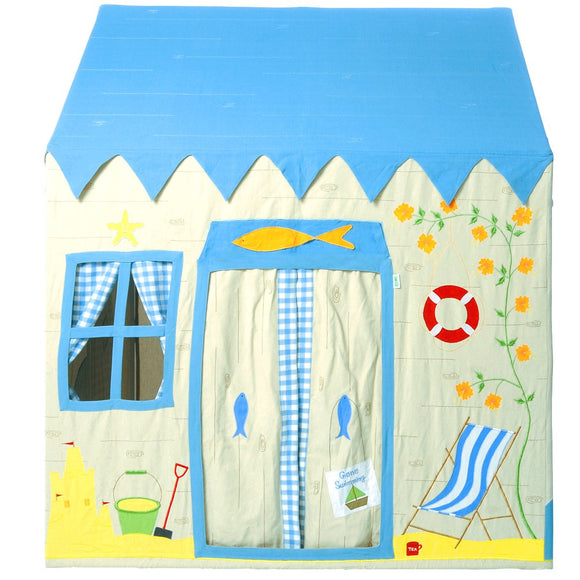 indoor beach house play tent