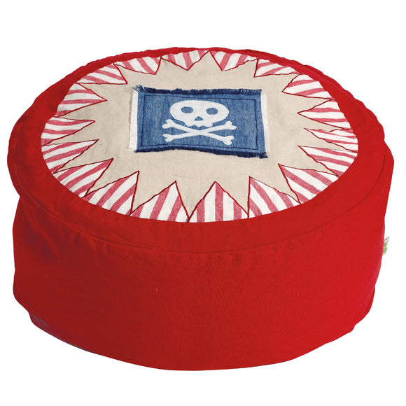 pirate design bean bag from canvas and willow play tents