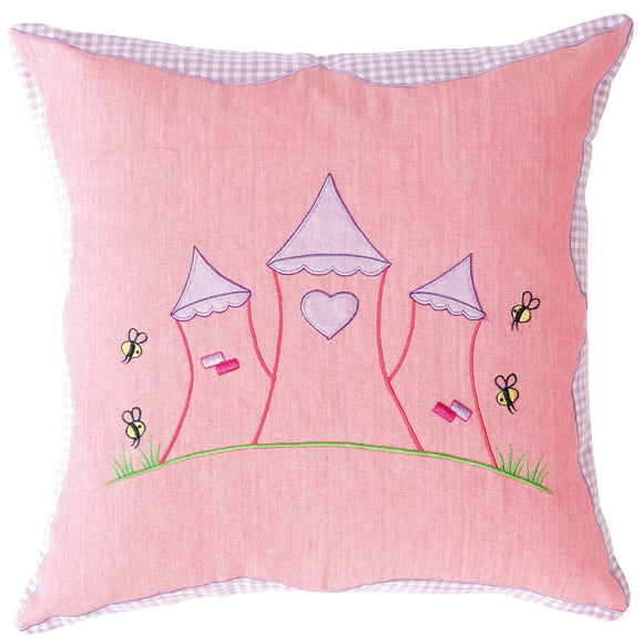 cushion cover for the princess castle play tent
