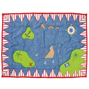 Pirate shack children's play mat