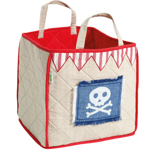 Pirate shack toy bag for children