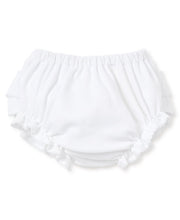 Load image into Gallery viewer, White Ruffle Diaper Cover
