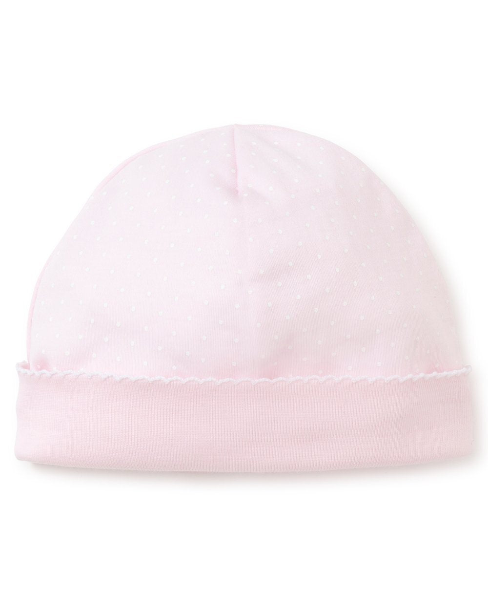 Pink and White Dot Hat