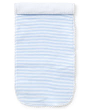 Load image into Gallery viewer, Stripe Blue Burp Cloth