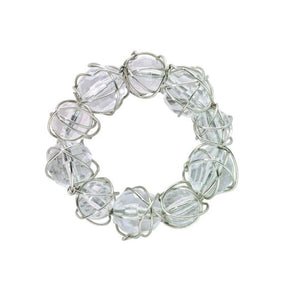 Crystal Bauble Napkin Rings (Set of 4)