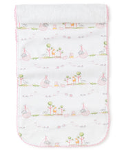 Load image into Gallery viewer, Noah Pink Burp Cloth