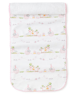 Noah Pink Burp Cloth