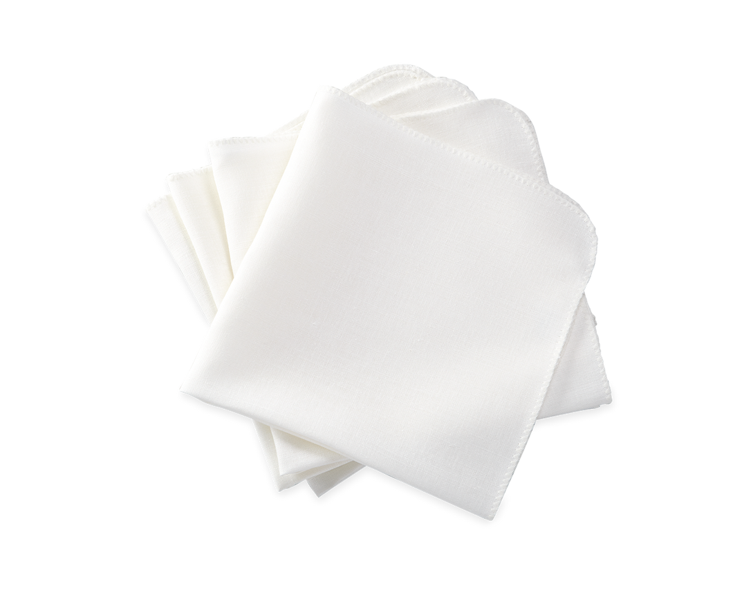 Calypso Napkin White- Set of 4