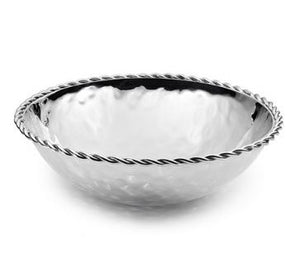 Paloma Round Bowl w/ Braided Wire