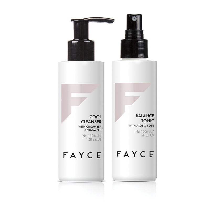 Cleanser & Toner Duo - Fayce Cosmetics