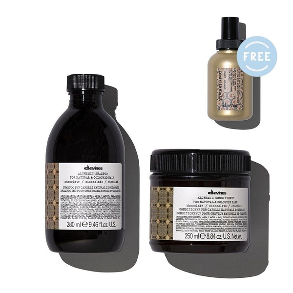 Davines ALCHEMIC Shampoo + Conditioner