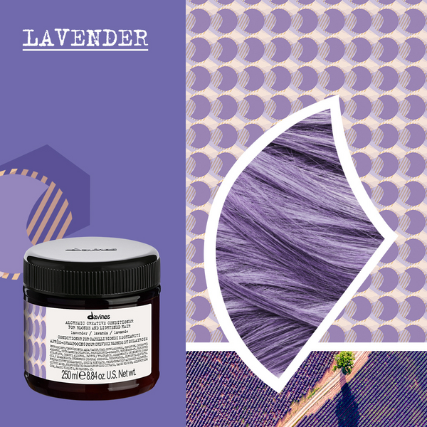 Davines ALCHEMIC CREATIVE Conditioner in LAVANDER 250ml