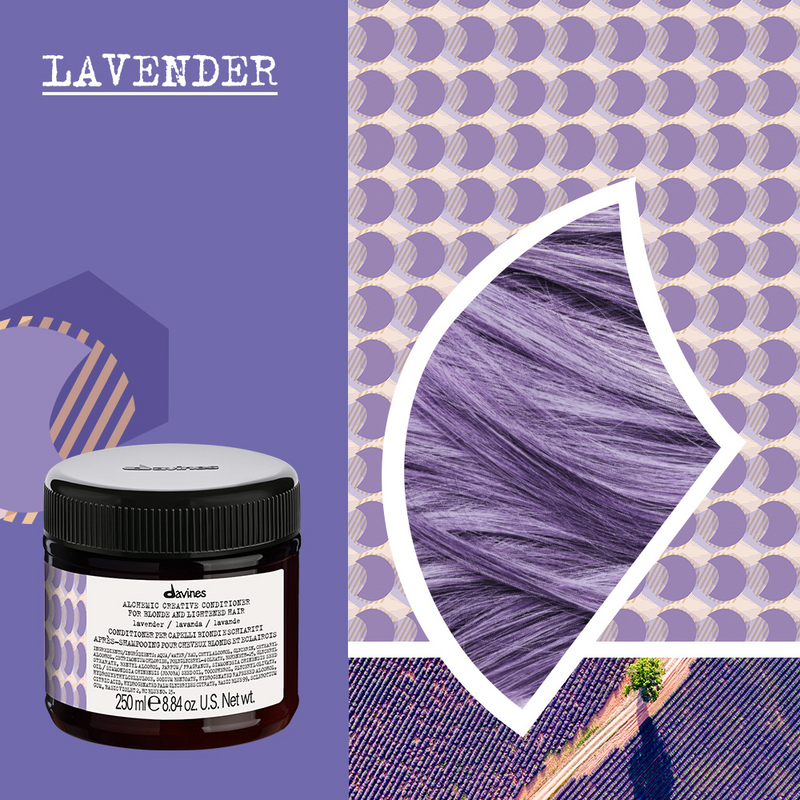 Davines Alchemic Creative Conditioner in Lavander