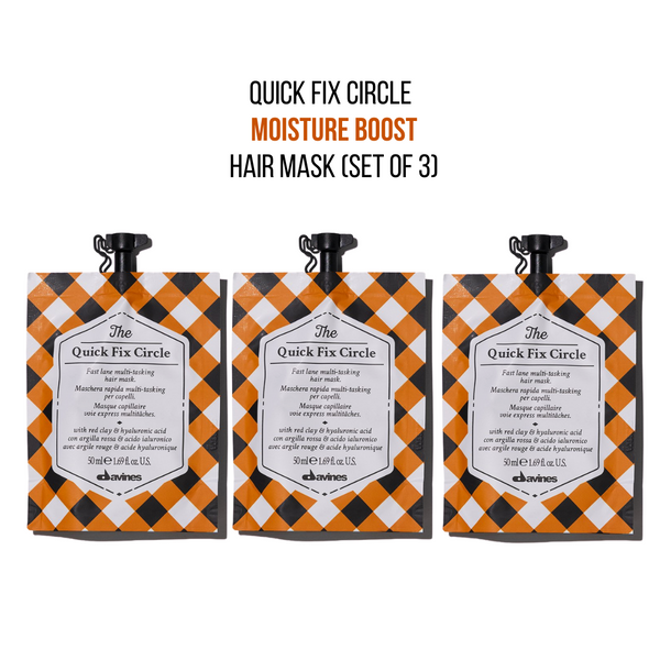 Davines THE CIRCLE CHRONICLES I The Quick Fix Circle Hair Mask (Set of 3) - DAVINES I SUSTAINABLE BEAUTY