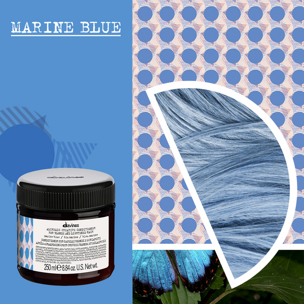 Davines Alchemic Creative Conditioner in Marine Blue