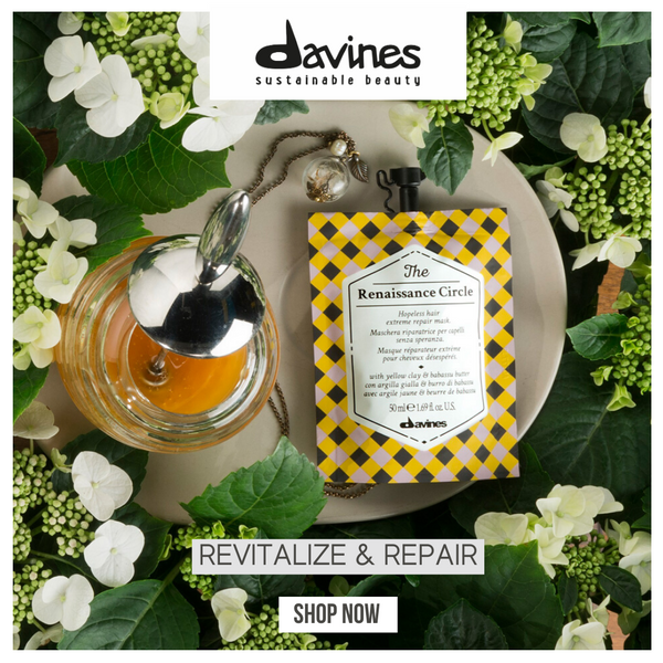 Davines THE CIRCLE CHRONICLES I The Renaissance Circle Hair Mask - DAVINES I SUSTAINABLE BEAUTY