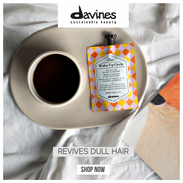 Davines THE CIRCLE CHRONICLES I The Wake-Up Circle Hair Mask - DAVINES I SUSTAINABLE BEAUTY