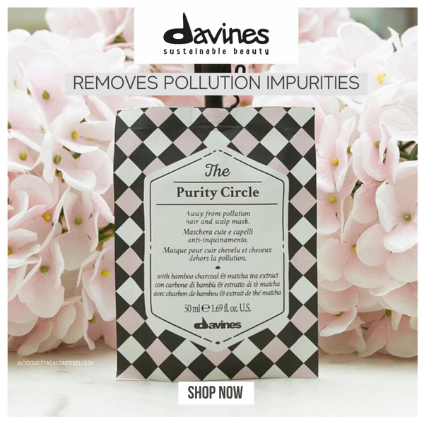Davines THE CIRCLE CHRONICLES I The Purity Circle Hair Mask - DAVINES I SUSTAINABLE BEAUTY