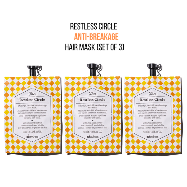 Davines The Restless Circle Hair Mask (Set of 3)