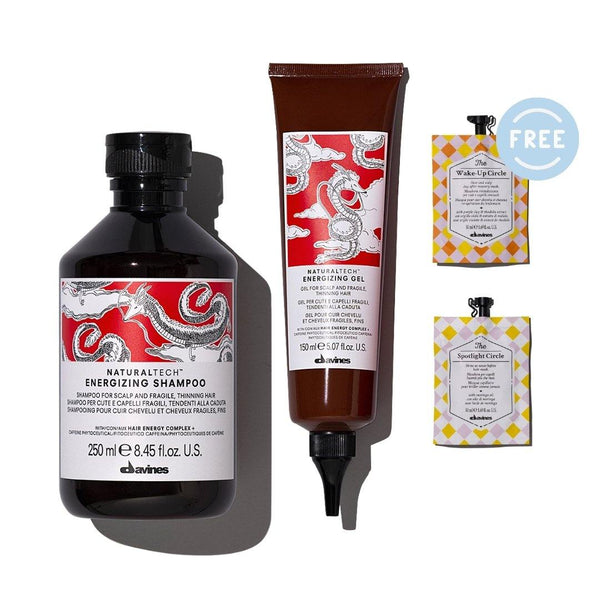 Davines ENERGIZING Shampoo + Gel I FREE 2 TCC Hair Masks - DAVINES I SUSTAINABLE BEAUTY