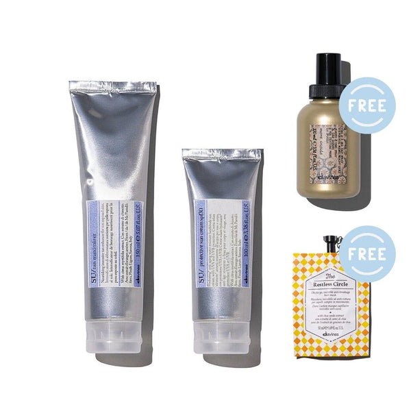 SU Tan Maximer + Protective Cream SPF30 I FREE Restless Instant Hair Mask and Sea Salt Spray 100ml - DAVINES I SUSTAINABLE BEAUTY