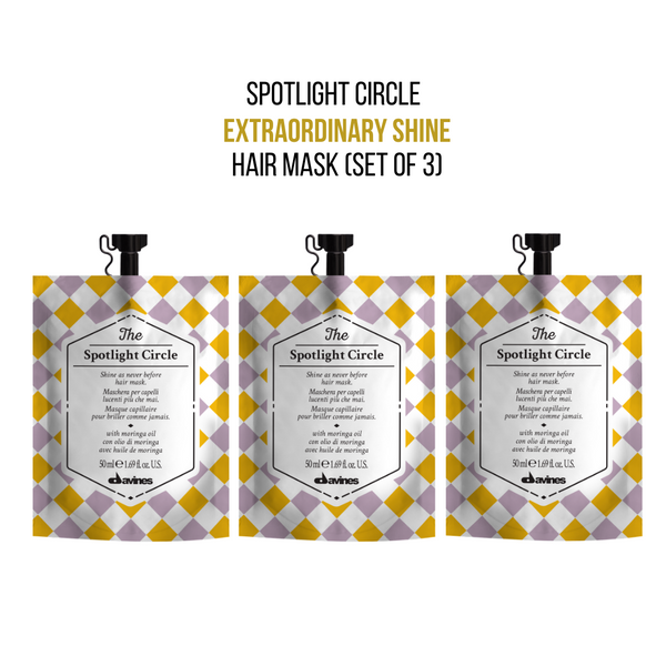 Davines The Spotlight Circle Hair Mask (Set of 3)