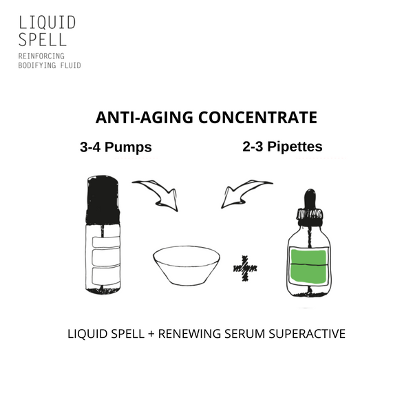 Davines LIQUID SPELL + NaturalTech RENEWING Superactive Serum - DAVINES I SUSTAINABLE BEAUTY
