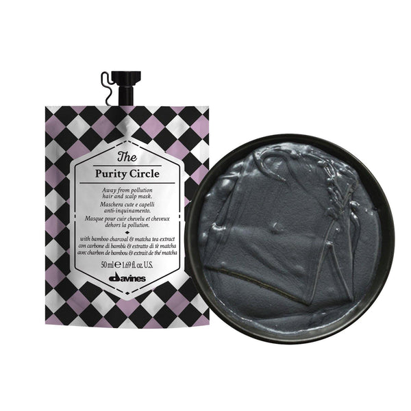 Davines THE CIRCLE CHRONICLES I The Purity Circle Hair Mask (Set of 3) - DAVINES I SUSTAINABLE BEAUTY